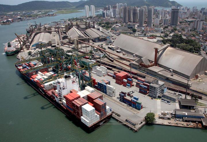Porto de Santos, inspeção sanitária