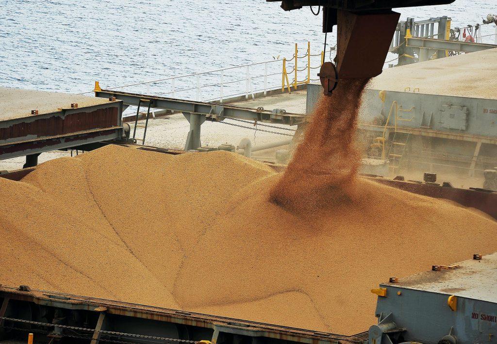 soja, porto, exportação, embarque, Brasil